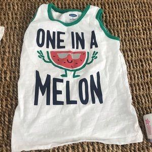 Boys one in a melon tank